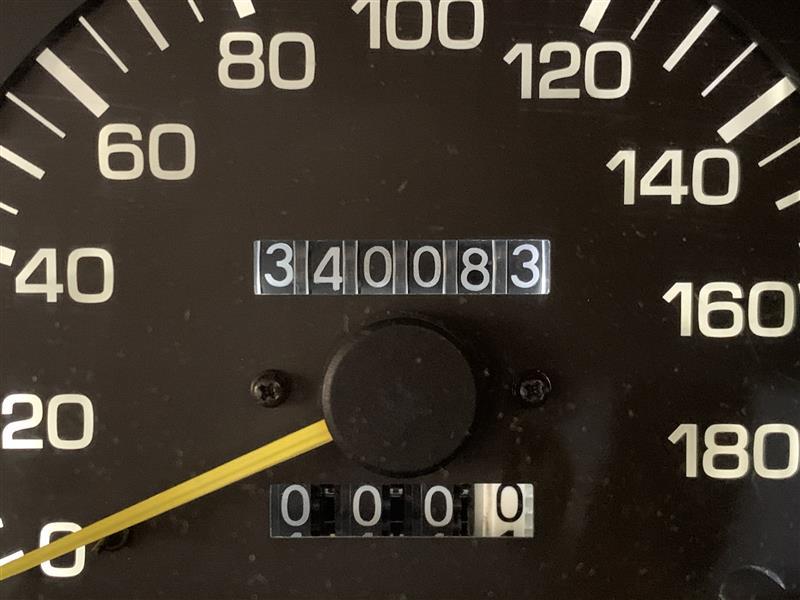 距離です<br /> 34万キロ超えました