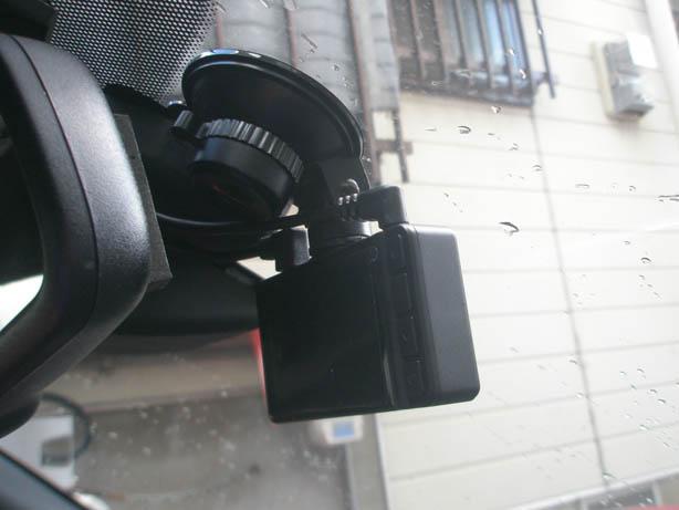 前だけのカメラから前後カメラに取り替え。