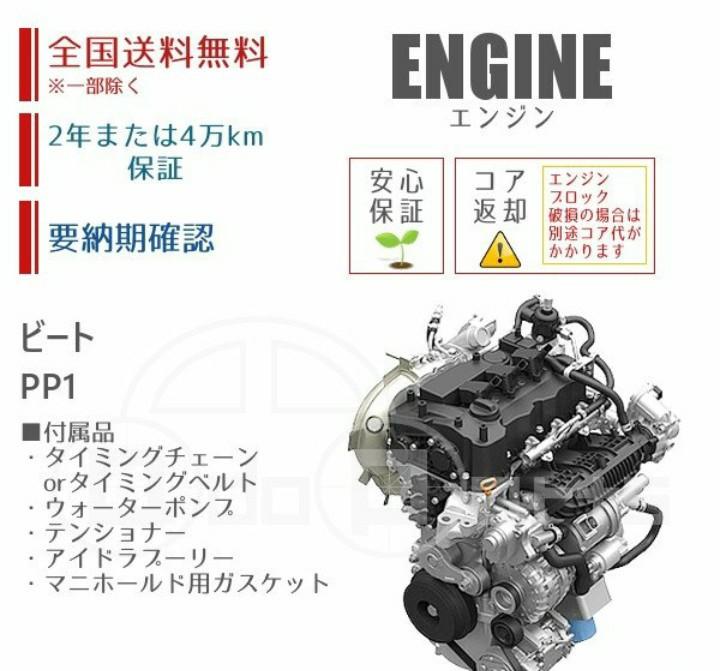 リビルトエンジンに換装。