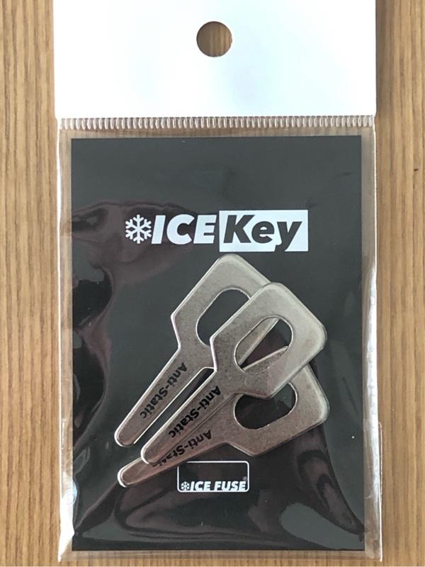 ICE key取り付け