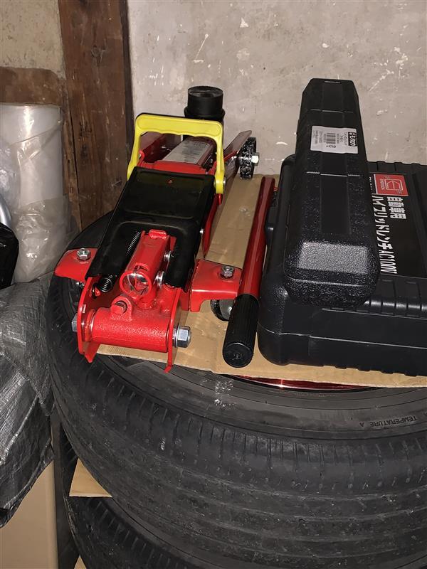 モノタロウ製3t油圧ジャッキのハンドル修理