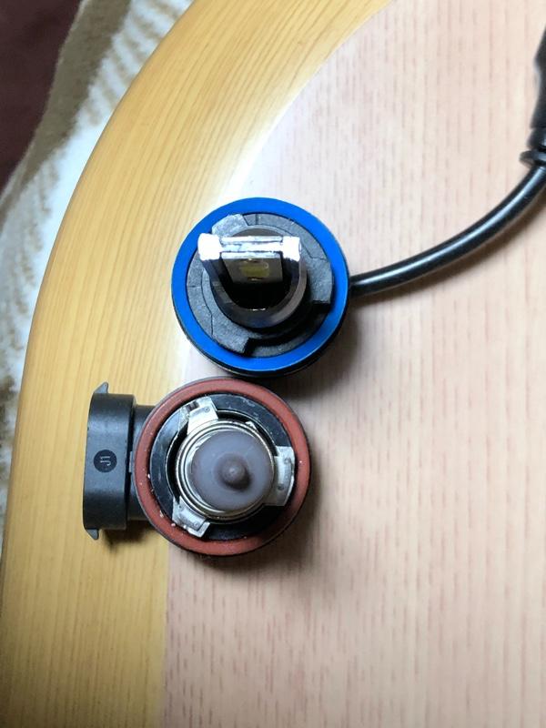 中華製激安LEDヘッドライト