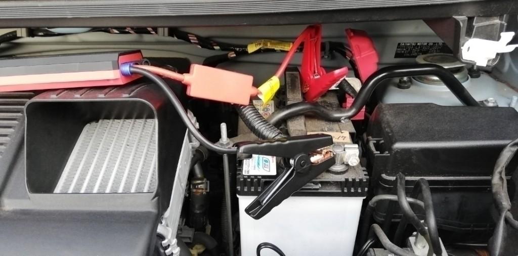 バッテリーを①カオスM- 65に交換❗ メモリーバックアップ失敗😵💧
