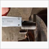 ボルトの長さは約24mm。余り厚いものを入れると、ネジで固定出来る長さが短くなる。先輩の情報では8mmとか。安全を考えるなら5mmぐらいまでとか。<br />