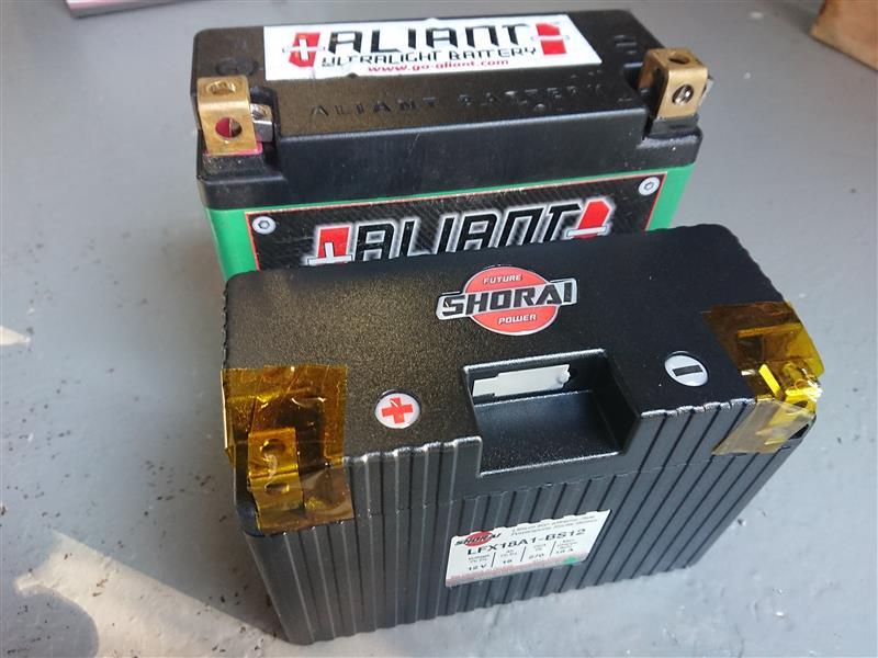 リチウムバッテリー交換