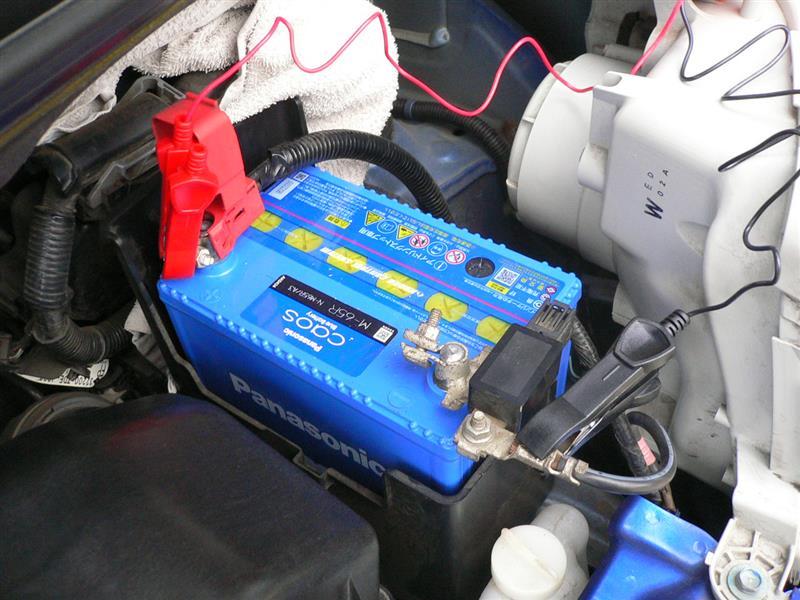5年半44,800kmでバッテリー交代🥎