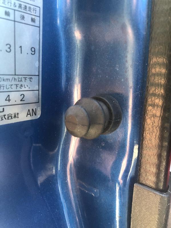 ドアセンサーカバー交換 247200km