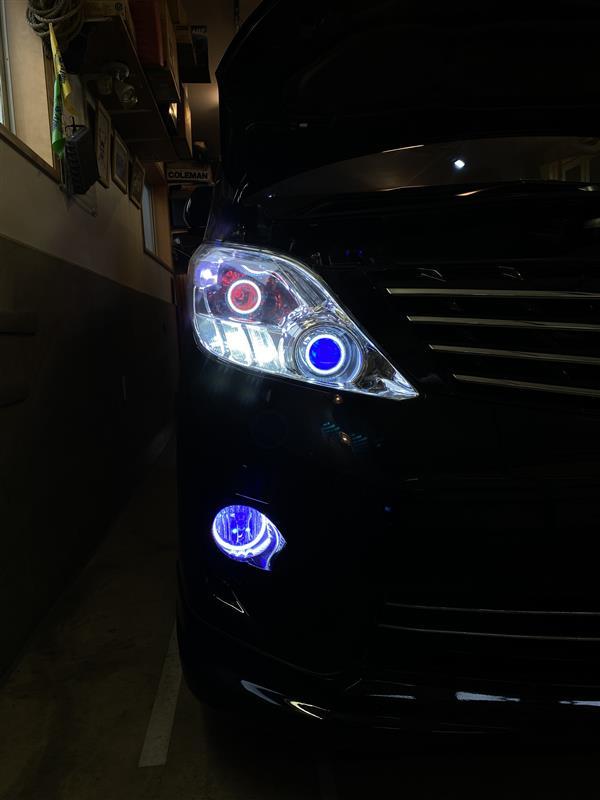 ヘッドライト改造