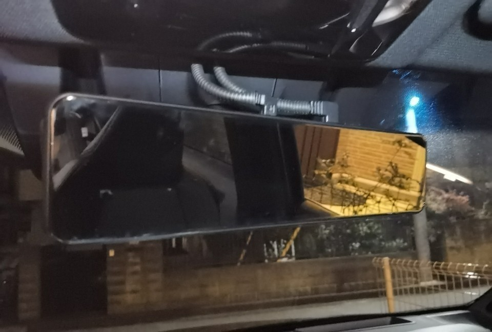 AKEEYO AKY-X6 デジタルインナーミラー 取付