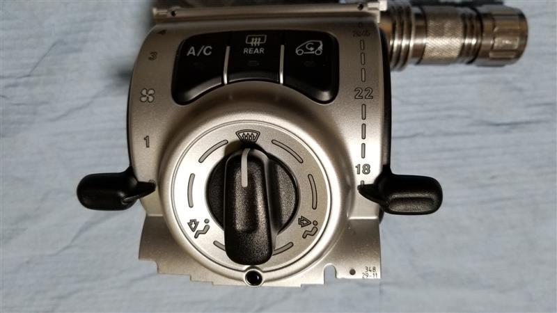 smart451 照明LED打ち替え ①