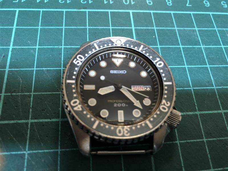 ダイバー時計の電池交換