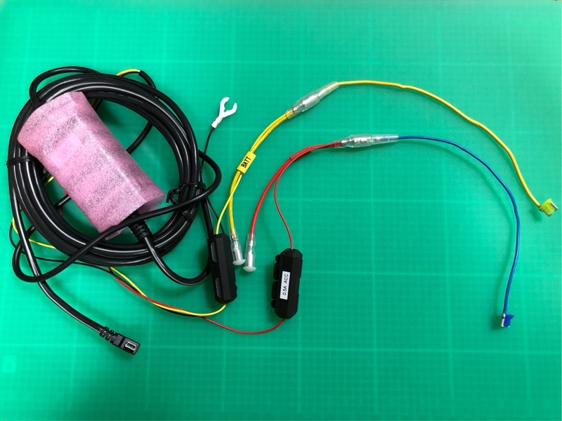ドラレコ DRV-MR450 取付け