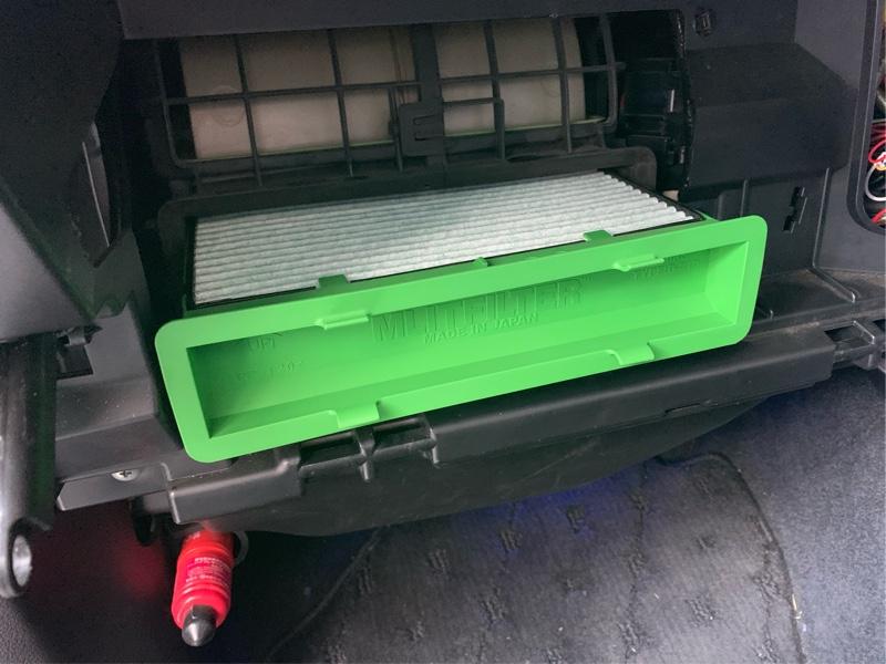 エアコンフィルター&スマートキー電池交換(走行距離114,920km)