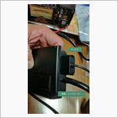 アンテナの根元は、こんな形状。<br /> アンテナケーブルコネクター、防水パッキン挿入、その上から防水キャップでおさえ、防水性能を高めています。外さないほうがいいな。(^_^;)<br /> <br /> メインハーネスに防水カプラーが2ヶ所。<br /> ここでインジケーターと分岐。<br /> <br /> 防水カプラーから先の電源ケーブルには、互換性あり。<br /> 折角だから新しいほうがいいな。<br /> <br /> クルクル、スパイラルチューブを巻きました。