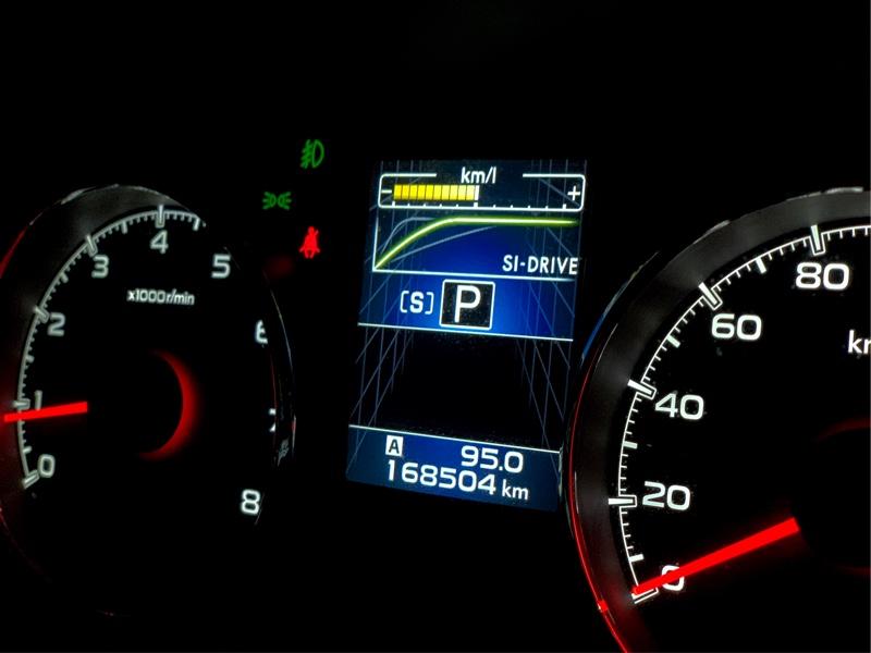 ENEOS 洗車機洗車 168504km