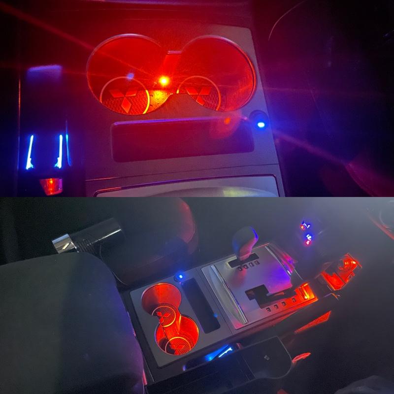 ドリンクホルダー LED照明 取付