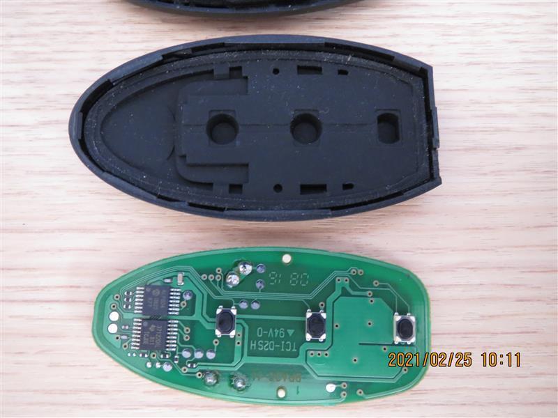 ラフェスタ インテリジェントキー 電池交換 CR2025