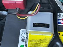 【アクセサリ】Geiger-R Katana取付 (総走行距離: 38,400km)