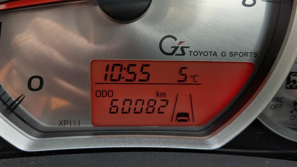 60082km ウイポジ取外しと下廻り洗車