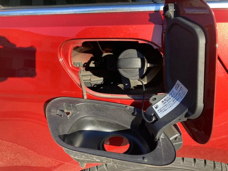 ゴルフ7 給油口のロック交換