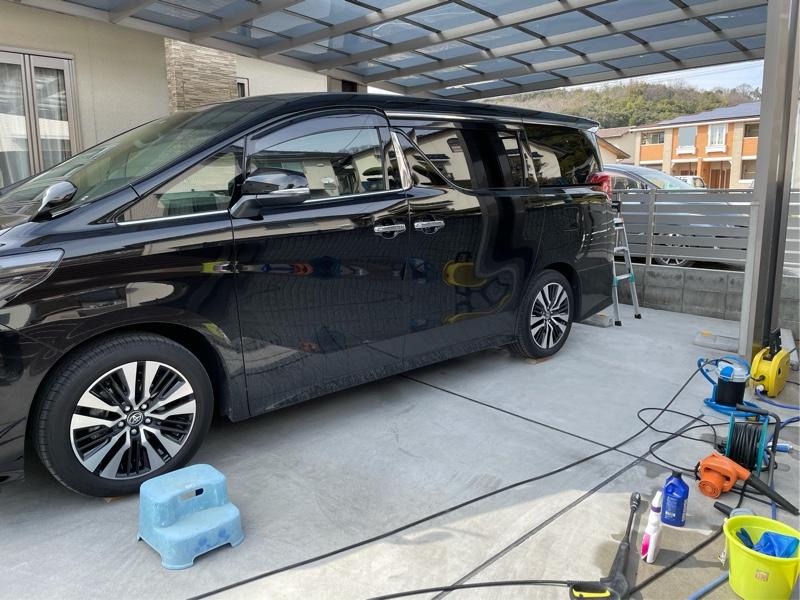 純水器での洗車(8回目)