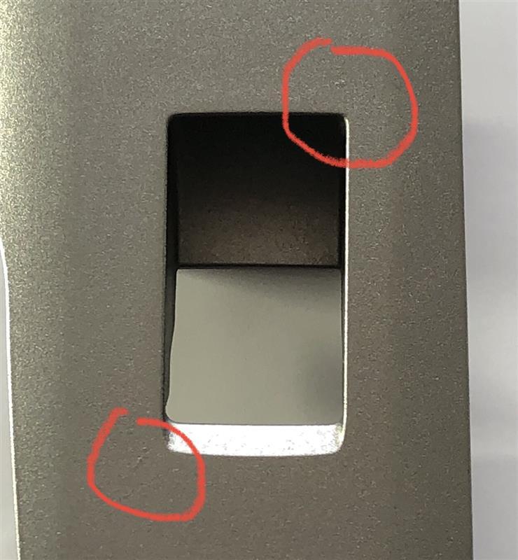 アームレストスイッチパネル塗装PART2