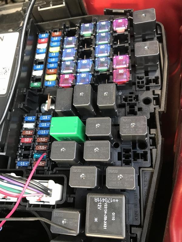【作業】ユアーズ CX-5 (KF系)  LED デイライト ユニット システム取付