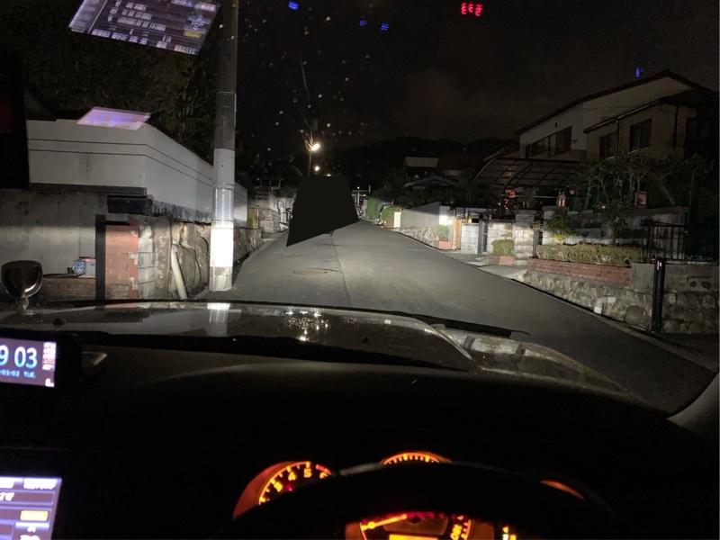 ヘッドライト HID→LED