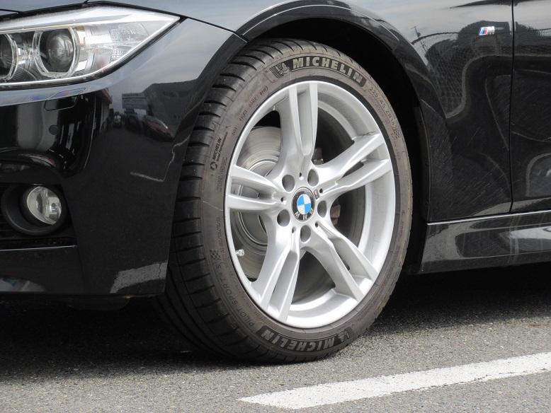 何処かでの段階で..BMW F30 320 ディクセルパッド&ローター交換