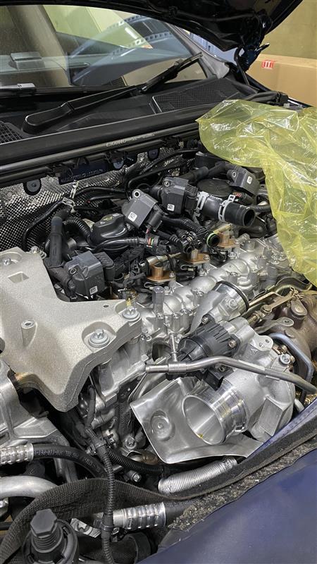 納車から一年と26,500キロでエンジン故障