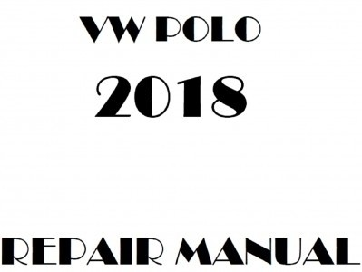 VW PORO 整備マニュアル USA版
