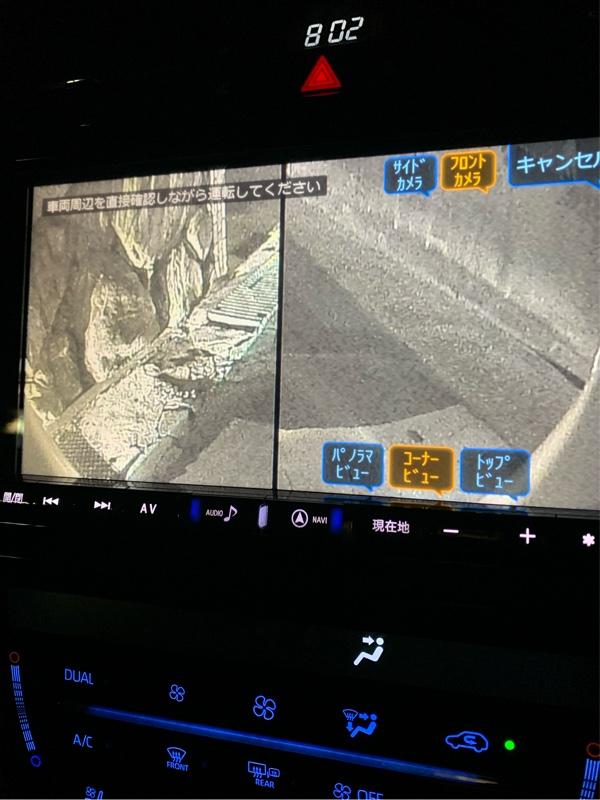 フロントカメラPKG-C2500FD2-HA2取付