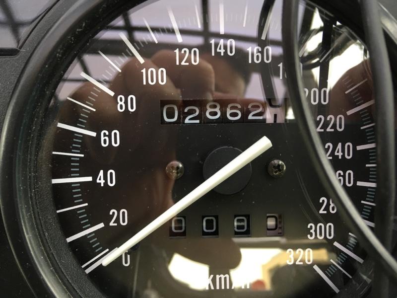 【ZZ-R】メーター距離数調整 at 102,862km