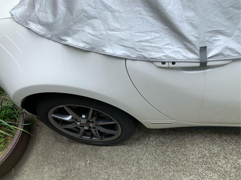 カバーして洗車とか手抜き過ぎ洗車💦
