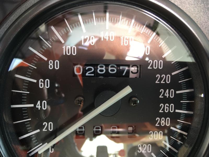 【ZZ-R】エンジンオイル交換 at102,867km