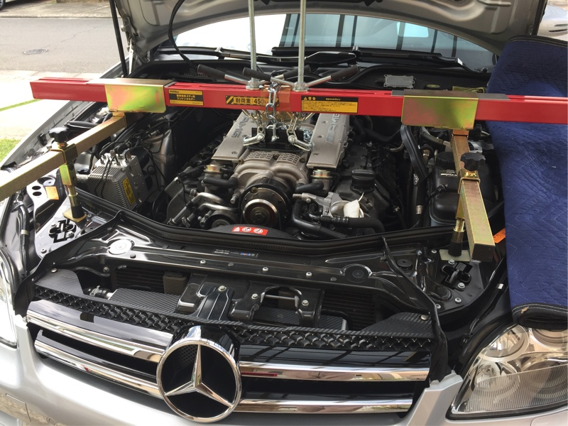 CLS55 エンジンオイルポンプOH 3