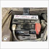 ディオチェスタ(AF68)の2回目のバッテリー交換