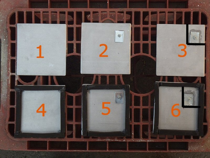 亜鉛板で鉄板の錆は止められる?
