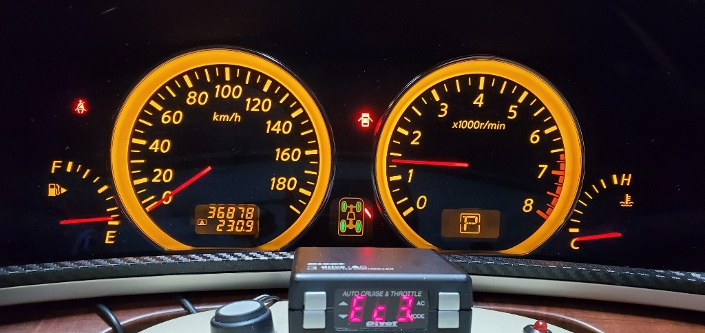 エンジンオイル交換(記録用) 36878km