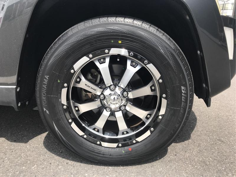 タイヤの新調