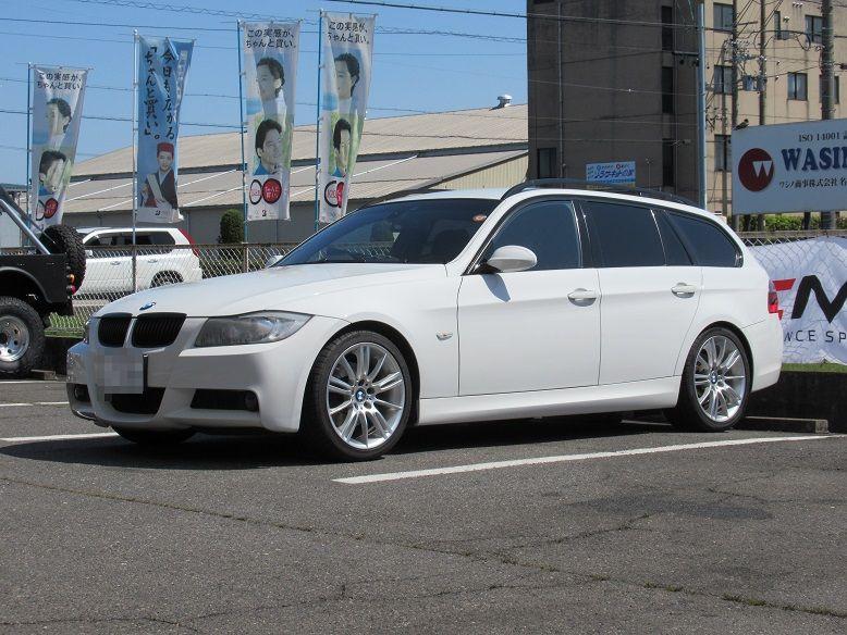 黒い悪魔にさようなら...BMW E91 クランツ製ジガベーシック ブレーキパッド交換