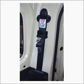 シートベルト取り外しの画像