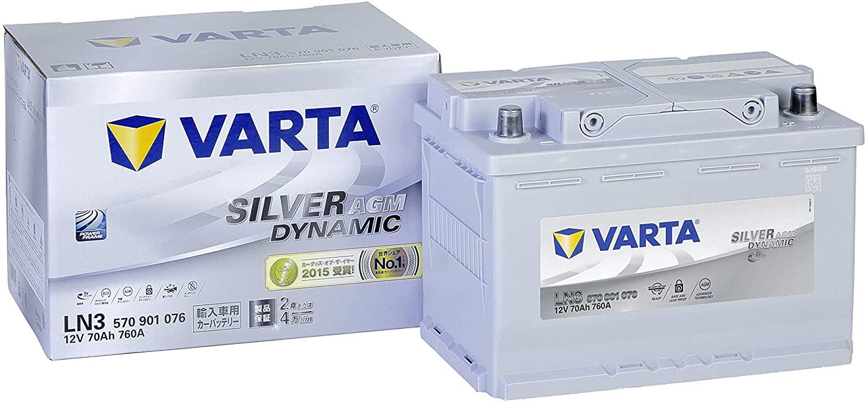 VARTA Silver Dynamic AGM LN3 E39
