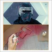 オーバーヘッドコンソール塗装の画像