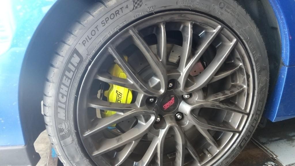 タイヤ組換え