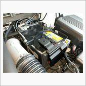 バッテリー液の補水の画像