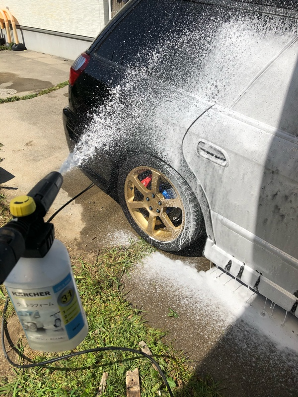 第1回洗車