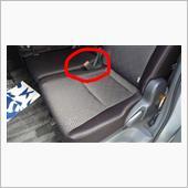 2列目のシートの快適化 シートベルト編の画像