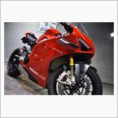 怒涛のパワー!234馬力のスーパーバイク、ドゥカティ・パニガーレV4Rのガラスコーティング【リボルト