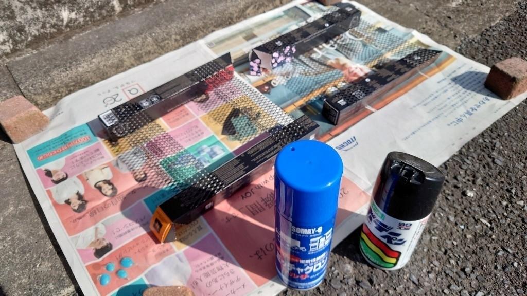 ROWEN リアコーナーパネル 塗装 Part64